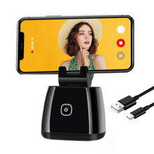 Capture Genie Ai Auto Face Tracking Gimbal Camera Mount 360 Rotation Selfie Stick Tripod Object Tracking Holder Rechargeable