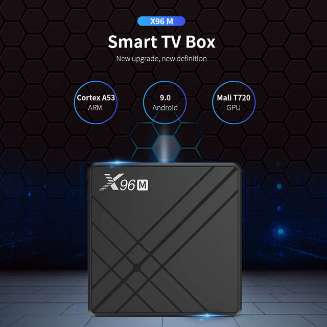 Интернет-магазин Android 9,0 Smart tv BOX X96 M X96M Allwiner H603 ...