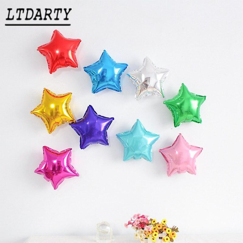 50 шт/30 шт/20 штук 5 дюймов маленькие милые юбки-пачки со звездочками, в форме воздушный шар из фольги Свадебные украшения День рождения baby shower ...