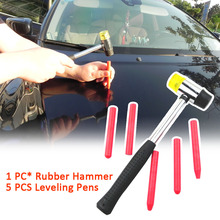 Pen Hammer Repair-Tool-Kit Remove-Car Dent-Rubber Body-Leveling Handheld DIY Manual Paintless