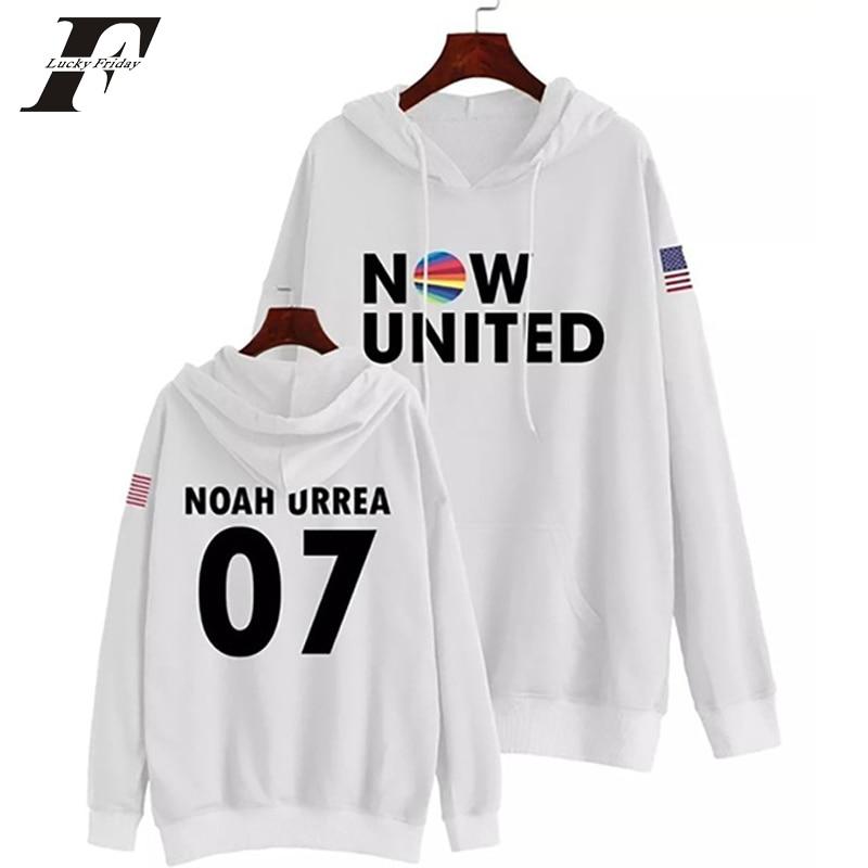 Now United Sabina Hidalgo 03 Hoodie Sweatshirts Trui Kpop Newtracksuit Streetwear Print Casual Mannen Vrouwen Printed Coat Tops 12