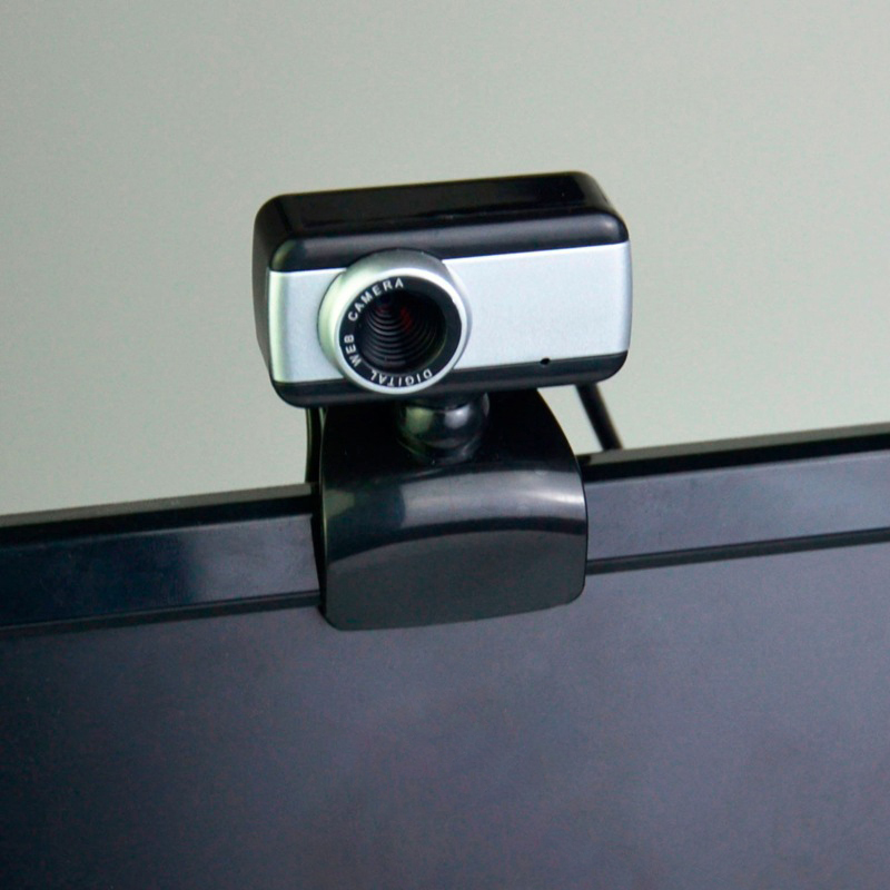 HD Webcam 480P Streaming Web Camera with Microphones Webcam for Gaming Conferencing Desktop New VDX99