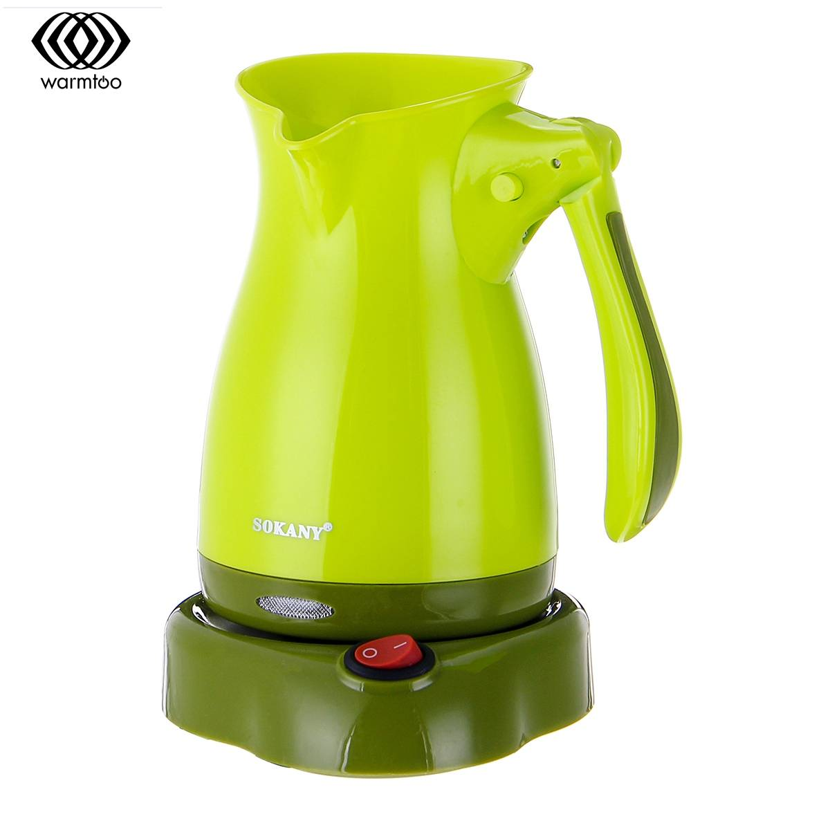 220V 5L Electric Coffee Pot Maker For Kitchen Heaters Stove Hot Cooker Plate Milk Water Coffee Tea Heating Kettles Home Office