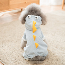 Hipidog New Arrival Fleece Cute Dinosaur Winter Pajamas For Dog Coat Cotton