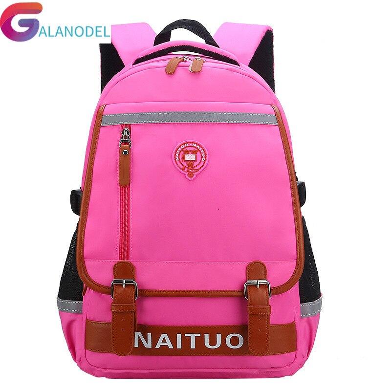 Waterproof Children School Bags For Girls Boys Backpacks Kids Orthopedic Schoolbags Primary School Backpacks Mochila Escolar