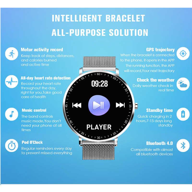 KAIHAI ساعة ذكية السباحة ip68 الموسيقى مراقب معدل ضربات القلب smartwatch قماش الساعات الدراجات مسار نظام تحديد المواقع ل أندرويد آيفون