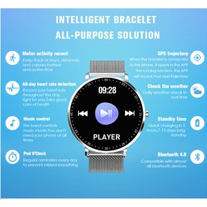 Image 3 - KAIHAI smart watch swimming ip68 music Heart Rate Monitor smartwatch canvas watches cycling gps trajectory for Android iphone