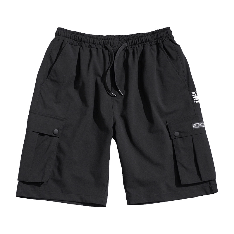 Streetwear Casual Men Shorts Big Size Plus Summer Vintage Shorts Cargo With Pockets Sport Jogger Roupas Fitness Clothing XX60MS