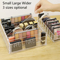 Stehend Transparent Lippenstift Halter Acryl Organzier Make Up Behälter für Pulver/Lidschatten/Nagellack/Kosmetik Lagerung Box|Make-up-Organizer|   -