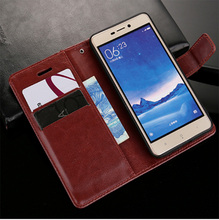 Luxury and durable with card cover leather set Xiaomi Redmi flip case 6 6A global mobile wallet for