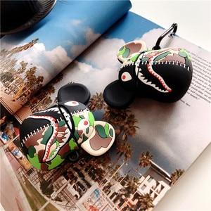 Image 4 - מקרה עבור אפל AirPods פרו צבע פנדה ראש רך סיליקה ג ל אוזניות מגן עבור AirPods1 3 אביזרי כיסוי