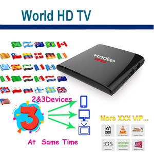Android A95x TV box support M3U Smart TV support link 3 devices
