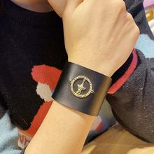 Женские винтажные браслеты манжеты d & из натуральной кожи