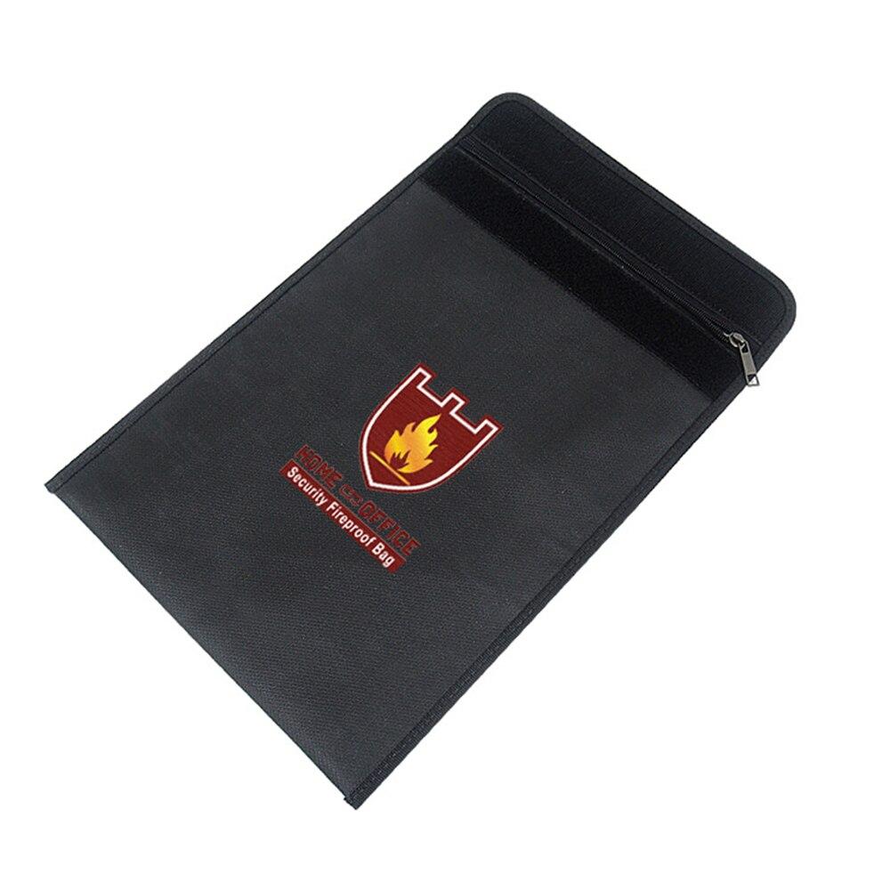 Home & Office Security Fireproof Bag Fireproof Water Resistant File Pocket Document Bag Durable Safe Battery Storage Bag