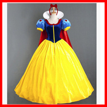 Halloween Party Carnival Role Playing Female Adult Cartoon Princess Snow White Costume