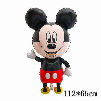 Giant Mickey Minnie Mouse Balloons Disney cartoon Foil Balloon Baby Shower Birthday Party Decorations Kids Classic Toys Gifts 42