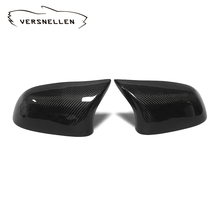 F15 Carbon fiber side view Mirror Caps Replacement for BMW X3 X4 X5 X6 Upgrade X5M X6M Look OEM Fitment Side Mirror Cover
