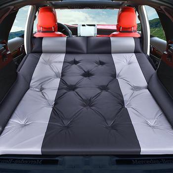 Four Seasons Off-road Car Inflatable Bed SUV Car Mattress Rear Row Car Travel Sleeping Pad Air Bed Camping Mat Pad Air Mattress