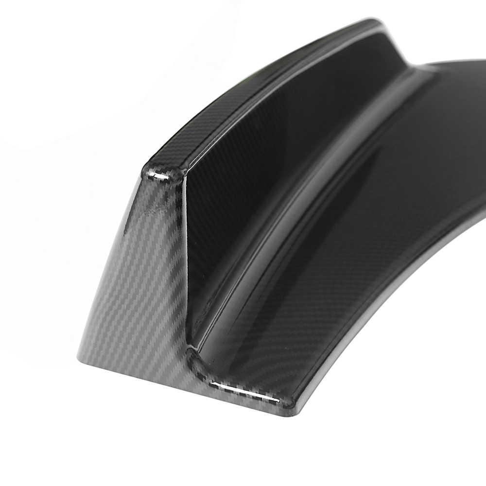 1 пара Универсальный Автомобильный передний дефлектор спойлер сплиттер диффузор оперение бампера губы тела лопаты бампер из углеродного волокна сплиттеры