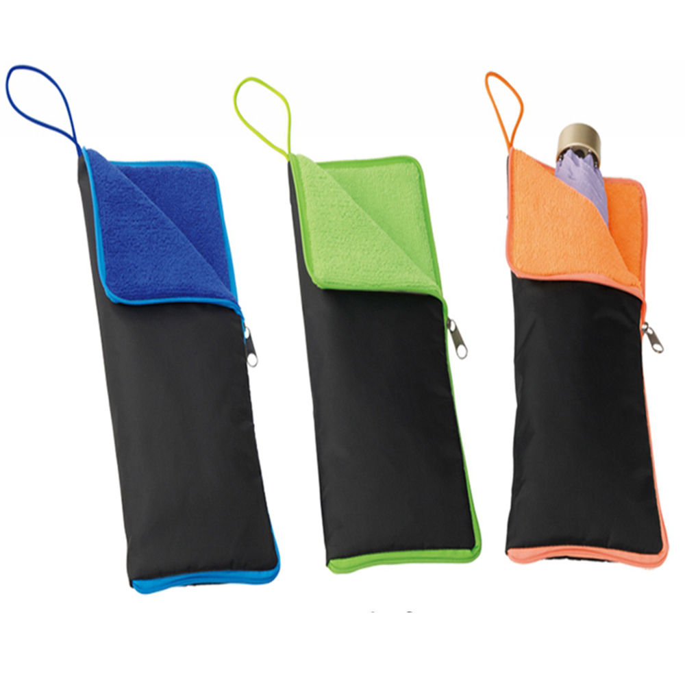 Umbrella Case Storage Umbrella Waterproof Bag Folding Umbrella Bag Super Water-Absorbent Umbrella Case Umbrella Cover Carrier