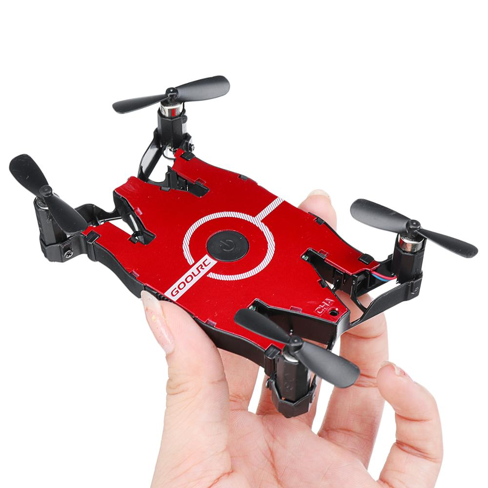 T49 SOL Ultrathin Wifi Selfie Drone 720P Camera Auto Foldable Arm Altitude Hold FPV Racing Drone RC Quadcopter VS H49 E57 H37