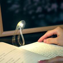 1шт мини закладки LED ночь свет путешествия портативный ясно, небольшой стол для чтения кнопка спальне батареи ультра-тонкий A8K4