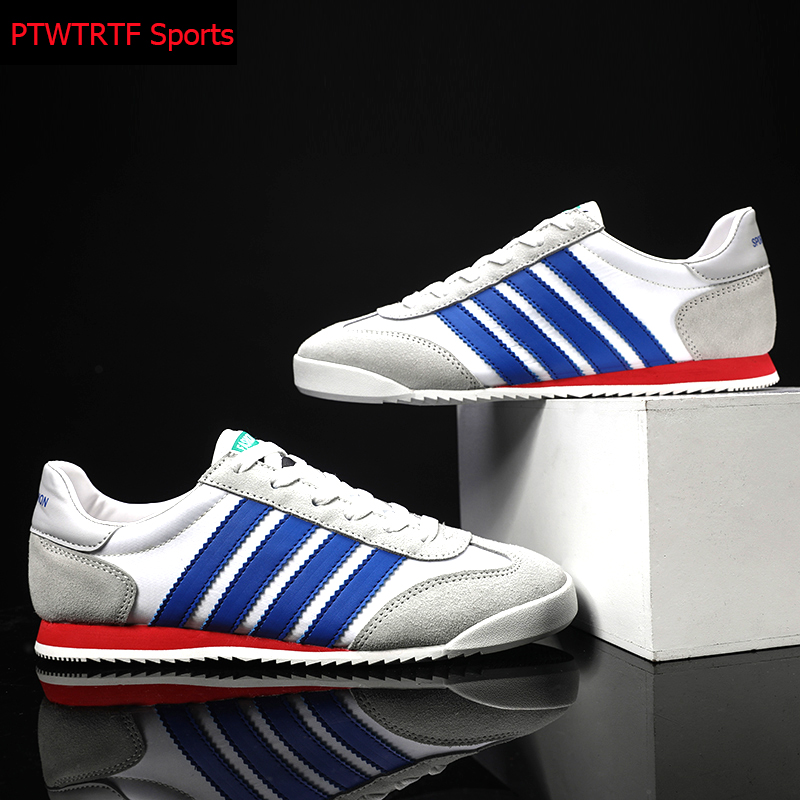 Original Running Shoes For Men Striped Canvas Breathable Man Sneakers 2020 Outdoor Jogging Walk Sports Shoes Athletic Sneakers