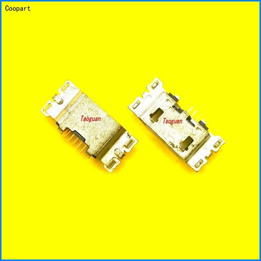 2pcs/lot Coopart New USB Charging Port Dock Connector For Sony C4 C5 E5333 E5363 E5303 E5306 E5343 E5353 F3215 E5563 E5553