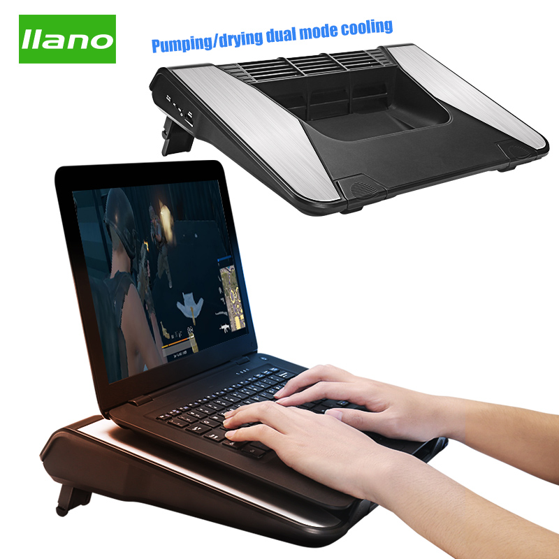 IIano Laptop Cooling Pad Adjustable <font><b>Stand</b></font> Laptop Ventilation USB Computer <font><b>Stand</b></font> <font><b>Notebook</b></font> Cooler Portable Laptop for 15 <font><b>17</b></font> Inches image