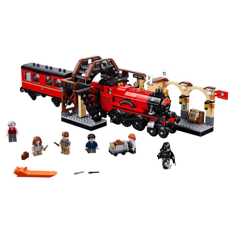 926 pièces petits blocs de construction jouets compatibles avec Harri Magic grand Hall cadeau pour les filles garçons enfants bricolage