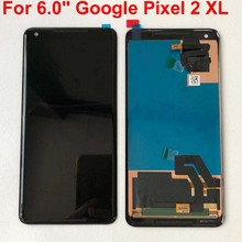 """Original New 5.0 For HTC Google Pixel 2 LCD Screen Display+Touch Panel Digitizer Screen For 6.0"""" HTC Google Pixel 2 XL Display"""
