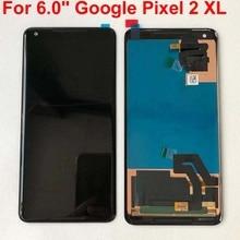 """Tela 5.0 original para htc google pixel 2, tela lcd + painel de toque digitador para 6.0 """"htc tela do google pixel 2 xl"""