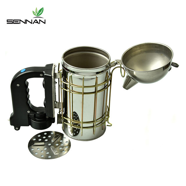 Stainless Steel Electric Bee Smoke Transmitter Apiculture Kit 4