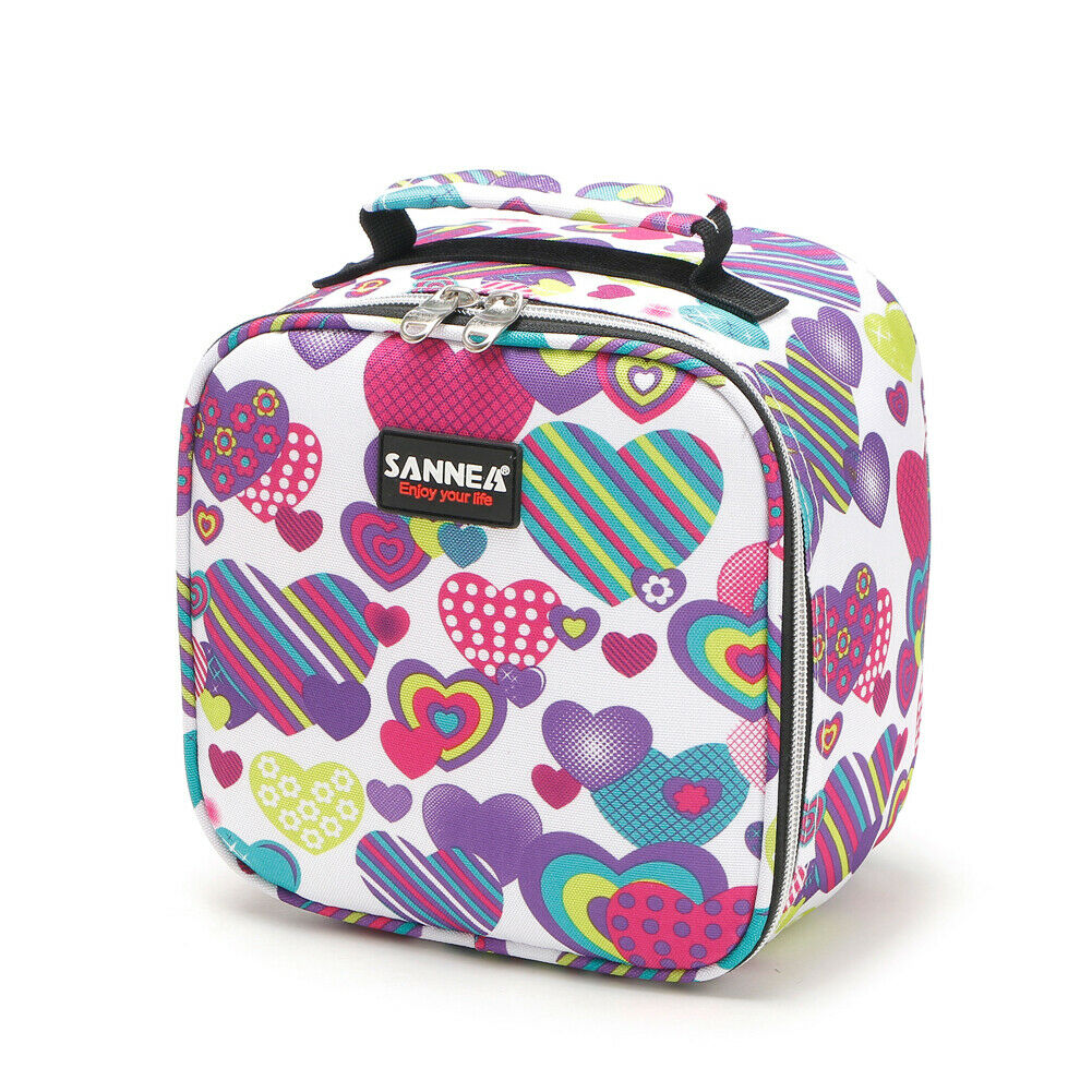 Portable Lunch Bags Insulated Cool Lunch Bag Picnic Bags Student School Lunch Box Storage Bag