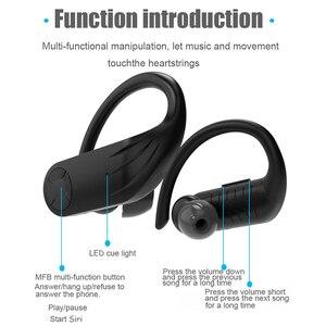 Image 4 - B1 TWS LED سماعات بلوتوث سماعة رأس لسماع الموسيقى الأعمال سماعة أذن واقي أذن رياضي الحد من الضوضاء يعمل على جميع الهواتف الذكية