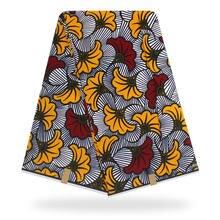 Africanwax икань хлопковый материал 1 ярд воск с цветочным принтом