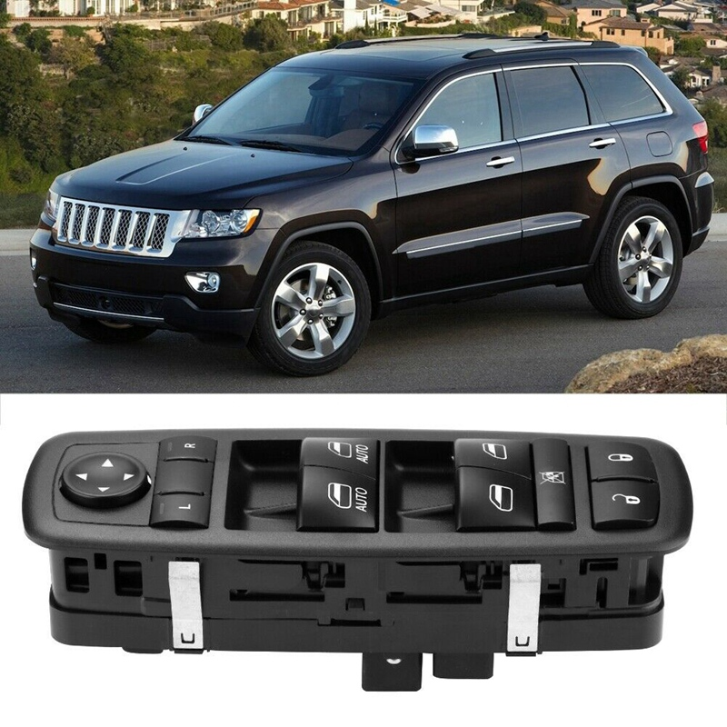 Car Front Left Power Master Window Switch For Jeep Grand Cherokee 68030823AB