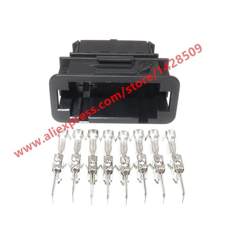 AUDI VW SKODA 8 Polig STECKER Connector 1J0973814 1J0 973 814