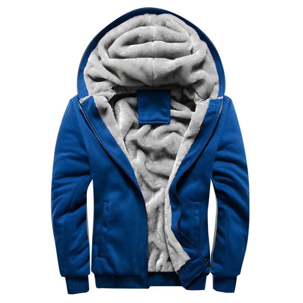 Chaqueta de invierno de poliéster de alta calidad de los hombres + abrigo spandex Casual Delgado Abrigo con capucha de los hombres elegante abrigo con cremallera hasta prendas de vestir