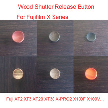 Wooden Wood Shutter Release Button For Fujifilm Fuji XT2 XT3 XT20 XT30 X PRO2 X100F X100V FujiFilm Series Camera