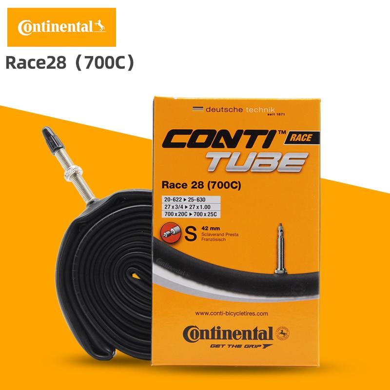 """42 60 80mm Presta Valve Continental 28/"""" Race Road Bike Inner Tube 700c 20//25c"""