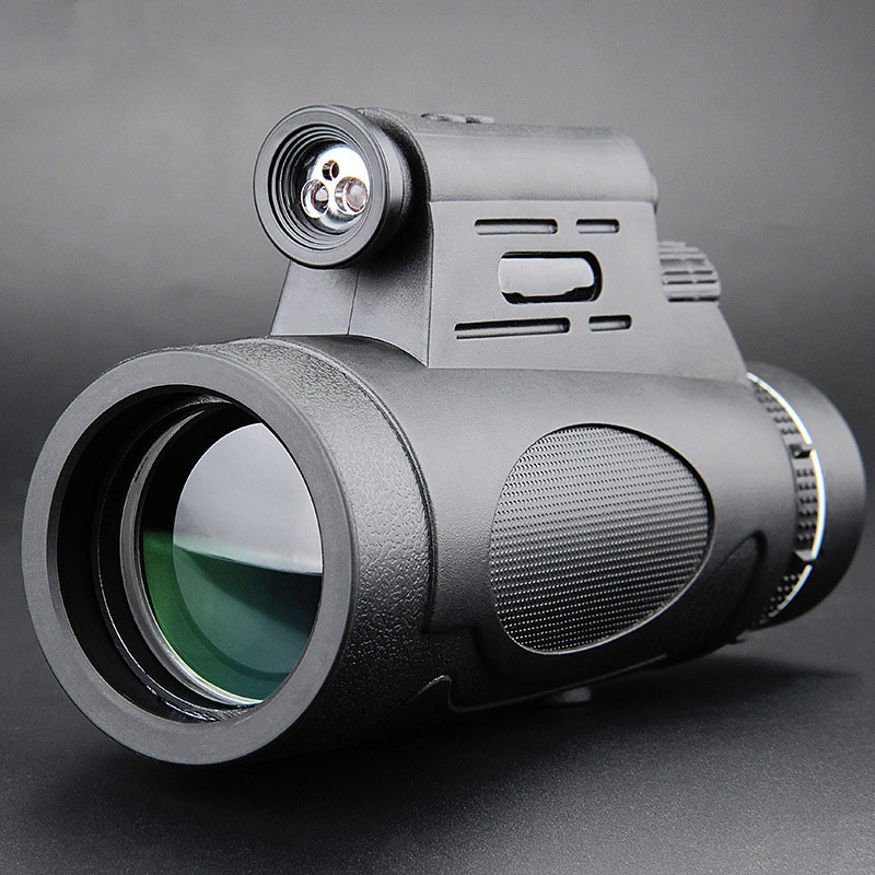 Professional 12x50 Monocular Telescope Military HD Night Vision Outdoor Hunting Clmbing Watching Birds Waterproof Outdoor Tools