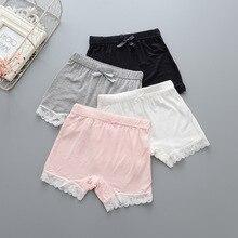 Летние безопасные Короткие штаны для девочек, детское нижнее белье, леггинсы, боксеры для девочек, Трусы-шорты, детские пляжные Трусы из мод...