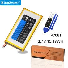 KingSener P706T New Tablet battery for DELL Venue 7 3730 Venue 8 3830 T02D T01C T02D002 T02D001 0CJP38 02PDJW 3.7v 15.17wh dell dell venue 8 pro 32gb