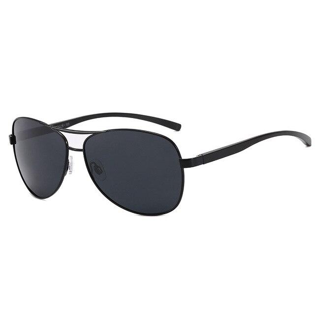 Gafas de sol de aluminio y magnesio para hombre, lentes de conducción de espejo, con revestimiento polarizado, accesorios, novedad de 2020 2