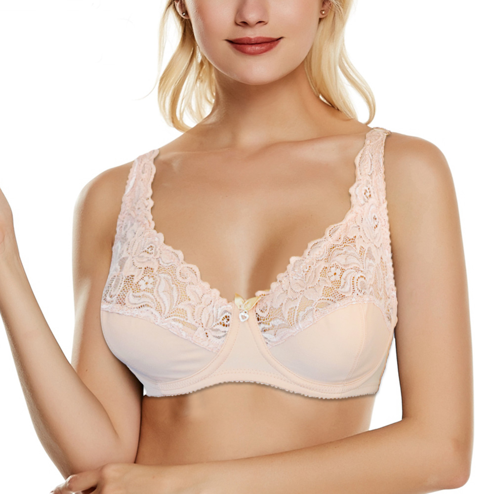 Womens Sexy Lingerie Bra Lace Non Padded Underwired Support Bralette Tops Female Underwear 1