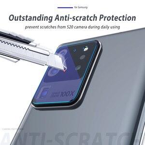 Image 3 - Szkło do aparatu Samsung Galaxy S20 Ultra S20 Plus szklana osłona obiektywu do Samsung S20Ultra uwaga 10 Plus S10 5G S20 Film