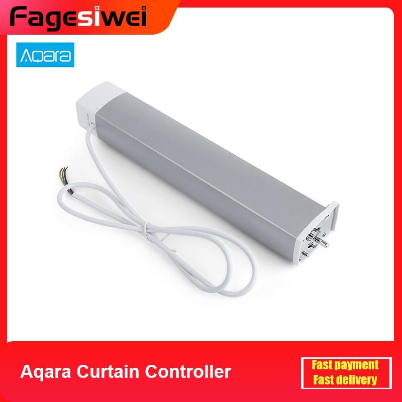 Control de ajuste de cortina Aqara ZiGBee, Smart Home, Motor de cortina inteligente con aplicación remota para teléfono inteligente Mi Home RFID 125KHZ o 13,56 MHZ, cerámica negra, anillo inteligente, desgaste para hombre o mujer