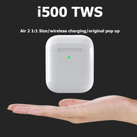 i500 TWS Replica 1:1 Air 2 Wireless Earphone Pop Up Bluetooth Headphone 5D Super Bass Earbuds pk i200 i2000 i1000 i9000 TWS