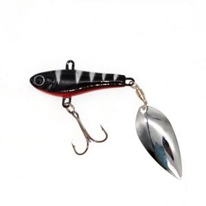 Image 4 - WLDSLURE דיג ספינר פיתיון 20g כף פיתוי מתכת פיתיונות טרבל וו isca מלאכותי דגי wobbler מזין קרפיון spinnerbait